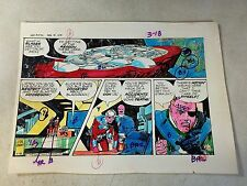 STAR HAWKS original art color guide 1979, GIL KANE, SCI FI, SPACESHIPS, awesome!