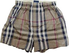 Burberry Made in Japan Men Boxer Underwear Camel Large Tartan Box Set-L Size