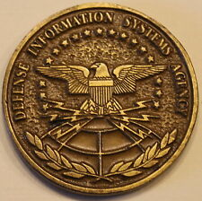 Defense Information Systems Agency DISA Rock Island Megacenter Challenge Coin