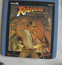 Vintage 1984 CED Videodisc Movie - Raiders of the Lost Ark LOOK