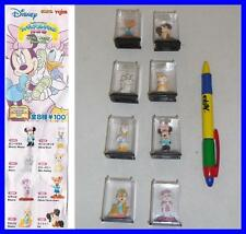 SET 8 Figure DISNEY CHARACTERS FIGURE COLLECTION Part 11 YUJIN JAPAN Gashapon