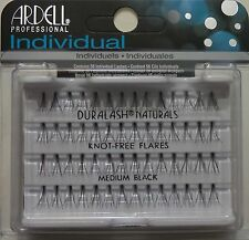 (LOT OF 10) Ardell Duralash Natural Knot-free Medium Individual Black Eyelashes