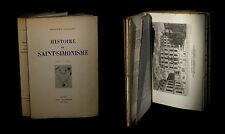 [ANARCHIE ANARCHISME PROUDHON FOURIER] CHARLETY - Histoire de Saint-Simonisme.