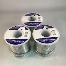 3 LB Rolls Amerway 60/40 Solder for stained glass supplies / Made in U.S.A.