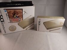 Nintendo DS Lite Zelda: Phantom Hourglass Gold System COMPLETE IN BOX, CIB #S027