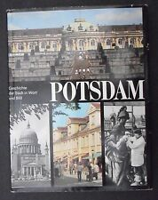 "2850 EAST GERMAN/DDR/GDR Cold War "" POTSDAM in pictures & Words"" book  cir 1986"