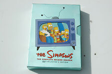 The Simpsons  The Complete Second season   DVD  set  !!!!!!!!!!!!!!!!!!!!!!!