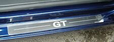 Volkswagen Golf Mk6 GT Silver Kick Plate Car Lower Door Sill Protectors K78x