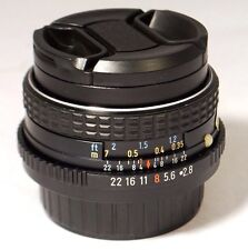 Asahi SMC Pentax f2.8 28mm Lens M PK manual focus bayonet FREE Shipping