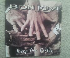 BON JOVI KEEP THE FAITH FIRST PRESS COLLECTORS EDITION CD 1992