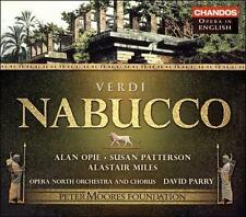 Nabucco (Opera North) CD NEW