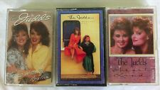 The Judds -  3 Cassette Tapes