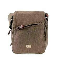 Troop London Messenger Bag 0239 Brown