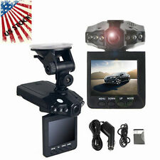 "2.5"" HD Car LED DVR Road Dash Video Camera Recorder Camcorder LCD 270° OY"