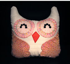 Hand-Crafted OWL Decorative Pillow #OP52 Special (M) - (plush/disney/bird/cat)