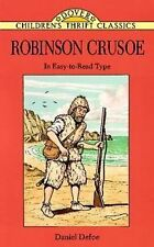 NEW Robinson Crusoe by Daniel Defoe Paperback Book (English) Free Shipping