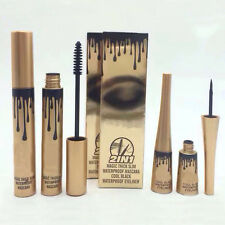 Black Liquid Eyeliner &Mascara Waterproof Colossal Makeup 2pcs/1set