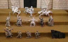 12 BROKEN FIGURES - Lord Of The Rings Metal Figure(s)