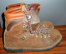 VINTAGE THOM MCAN ITALY MADE SUEDE HIKING TREKKING VIBRAM SOLE BOOTS SIZE 10.5