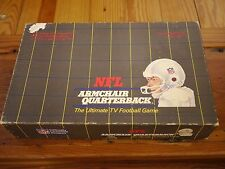 Vintage 1986 Officially Licensed NFL Armchair Quarterback TV Football Game