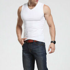 New Men's Tanks Cotton muscle Slim Fit Stylish Tank Tops Sleeveless Shirt Vest