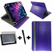 3er Set 7 zoll Tablet Tasche + Folie + Stift -  blackberry playbook 3in1 Lila 7