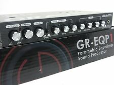 Gravity Parametric Equalizer With Epicenter Digital Bass Machine EQ GR-EQP11