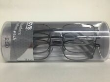 Lot of 6 Reading Glasses Jacob Gun +2.50 New in Package