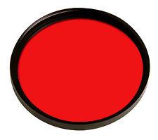 Filtro Colorato Rosso 58mm 58 mm NUOVO