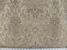 Drapery Upholstery Fabric Sussex Traditional Chenille Jacquard - Natural
