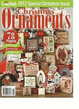 JUST  CROSS STITCH, CHRISTMAS ORNAMENTS, 2012 ( 2012 SPECIAL CHRISTMAS ISSUE )
