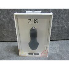 Nondo ZU22BKRN ZUS Smart Car USB Charger for iOS or Android, Black 4.8A Max