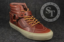 VANS TH SK8-HI ENGINEER LX VN00019X7X8 TAKA HAYASHI LEATHER TORTOISESHELL SZ:8.5