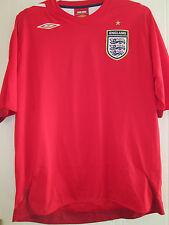 England 2004-2006 Away Football Shirt adult extra large XL GB trikot /39466