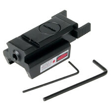 Red Dot Laser Sight 20mm montaje en carril Picatinny para Pistola de caza compacto