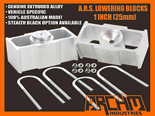 "FORD AU/BA/BF/FG FALCON 1"" INCH (25mm) REAR LOWERING BLOCKS (ALL MODELS)"