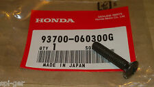 92-01 CB750 Honda New Genuine HandleBar End Weight 6x30 Oval Screw 93700-060300G