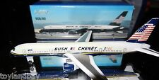 Schabak 1:600 Scale Diecast 908-89 2000 Bush Cheney Campaign Boeing 757-200 New