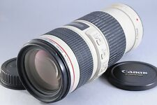472 Verygood Canon EF 70-200mm F/4 IS USM L Lens From Japan