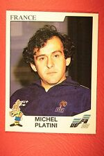 Panini EURO 92 N. 43 FRANCE PLATINI NEW WITH BLACK BACK TOP MINT!!