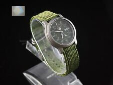 SNK805K2 SEIKO 5 Military Style Automatic Men's Green Watch Brand New + Gift !!