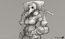 (ScareWaves)[FDB-037] KD - Doctor Female Model kit