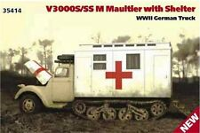 ICM 35414 1/35 V3000S/SS M Maultier with Shelter WWII German Truck