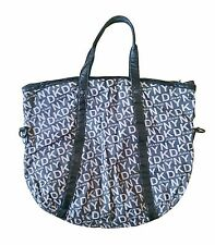 DKNY Jeans Womans Round Shopper Tote Bag