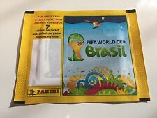 Panini WM WC Brazil 2014 Sealed Bustina Pack - Rare No Barcode Version