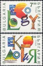 Bulgaria 1993 Ecology/Environment/Trees/Water/Sun/Conservation 2v set (n28997)
