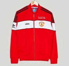 ADIDAS Originals Manchester United FA Cup 1985 Wembley TRACK TOP XL nuovo MU TT 85