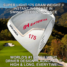 NON-CONFORMING HEATER 175 LITE ILLEGAL+25YD SUPERCHARGED ROCKET GOLF DRIVER HEAD