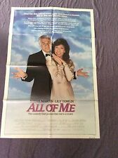 All Of Me Movie Poster Steve Martin Lily Tomlin 1984