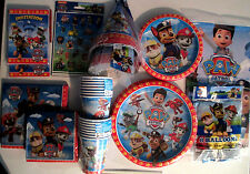 PAW PATROL -Nick Jr. Birthday Party Supply SUPER KIT w/Hats,Balloons & More